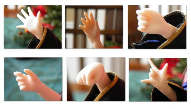 c hands