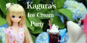 kagura's ice cream party button