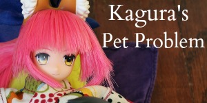 kagura's pet problem button