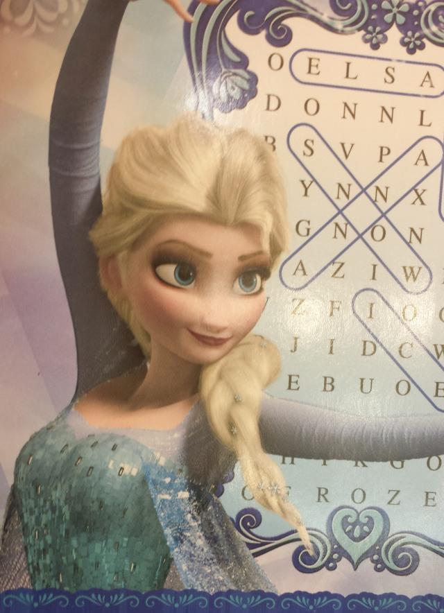 Elsa face 1